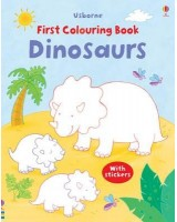 First colouring book Dinosaur