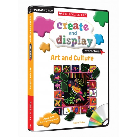 Art and Culture (Create and Display) CD-ROM