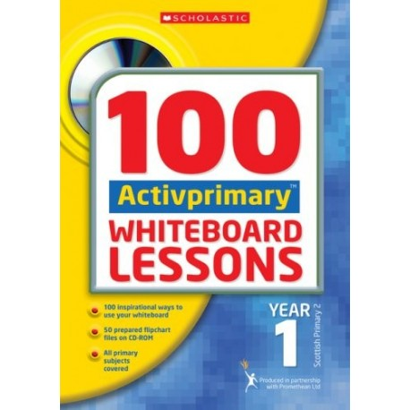 100 ACTIVprimary Whiteboard Lessons Year 1