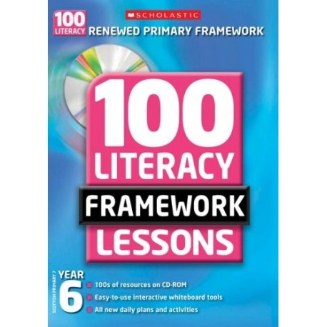 100 New Literacy Framework Lessons for Year 6 with CD-Rom