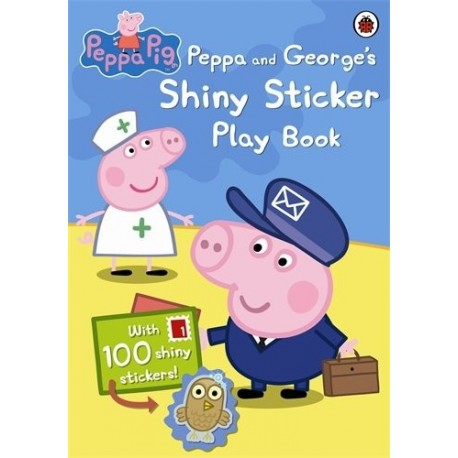 Peppa Pig and George's Shiny sticker play book