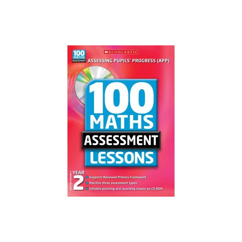 100 Maths Assessment Lessons Year 2 - English Wooks