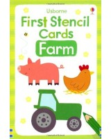 Usborne First Stencil Cards - Farm