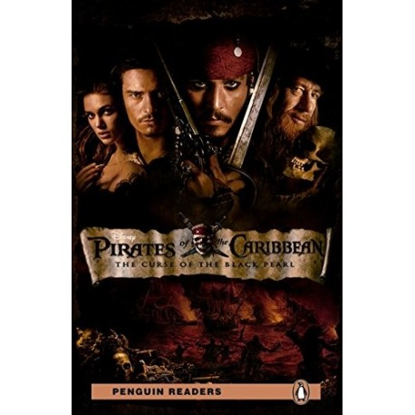 Pirates of the Caribbean the Curse of the Black Pearl Book and MP3 Pack: Level 2
