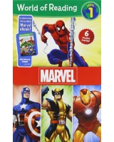 World of Reading Marvel Boxed Set: Level 1