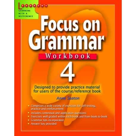 Focus on Grammar Workbook 4