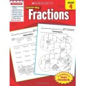 Scholastic Success with Fractions, Grade 4