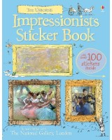 Impressionists Sticker Book (Usborne Sticker Books