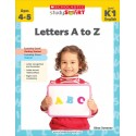 Scholastic Study Smart: Letters A to Z K1