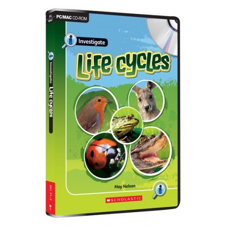 Investigate: Life Cycles CD-ROM