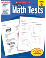 Success with Math Tests, Grade 6
