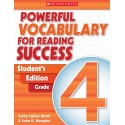 Powerful Vocabulary for Reading Success: Student Workbook, Grade 4