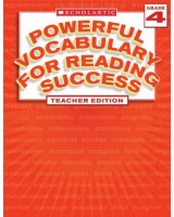 Powerful Vocabulary for Reading Success, Grade 4, Teacher Edition