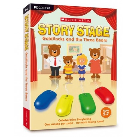 Story Stage: Goldilocks and the Three Bears CDROM