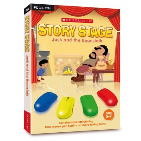 Story stage: Jack & The Beanstalk CDROM