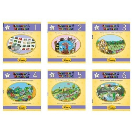 Grammar 1 Workbooks 1-6 (Jolly Phonics)
