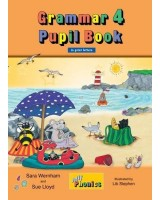 Jolly Phonics - Grammar 4 Pupil Book in print letters