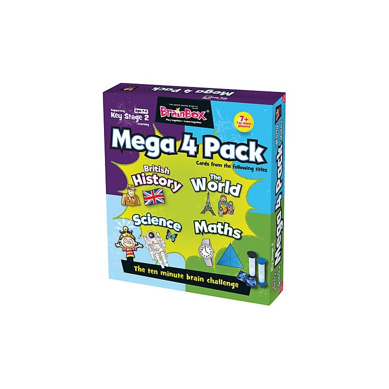 BrainBox Key Stage 2 Mega Pack Game - English Wooks