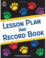 Lesson Plan & Record Book With Monthly Planner