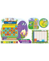 Jingle Jungle Calendar Bulletin Board