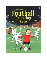 Football colouring book usborne