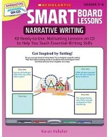 Narrative Writing, Grades 3-6: 40 Ready-To-Use, Motivating Lessons on CD