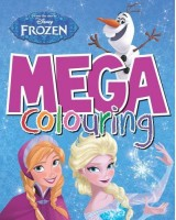 Disney Frozen Mega Colouring