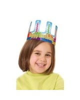 Birthday cupcake crowns