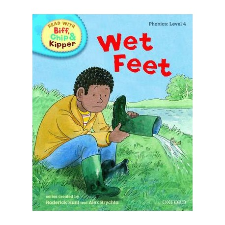 Wet feet (Read With Biff, Chip, and Kipper: Phonics: Level 4)