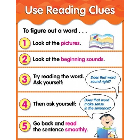 Use reading clues
