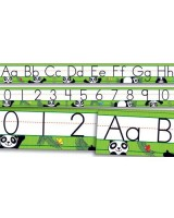 Panda Alphabet and Number Bulletin Board Set