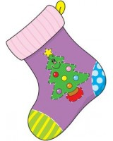 Christmas Stockings Cuts-out CD 5565