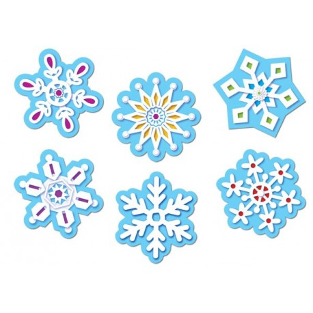 Winter Snowflakes Cut-Outs CTP5884