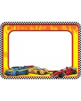 Race Cars Name Tags TCR5310