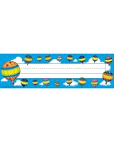 Hot Air Balloons Name Plates TCR5299