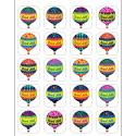 Hot Air Balloons Stickers TCR5339