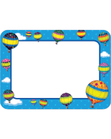 Hot Air Balloons Name Tags/Labels TCR5340