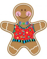 Gingerbread Man CTP5889
