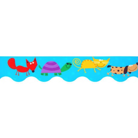 Animal Friends border CTP2671