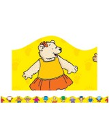 Cute Bears Bulletin Board Trimmer, Scalloped  TF8270
