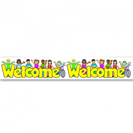 Welcome border CD1486