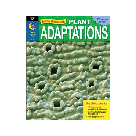 Plant Adaptations Photo Cards