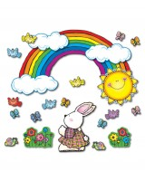 Sun 'n Rainbow Bulletin Board Set