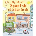 My first Spanish sticker book