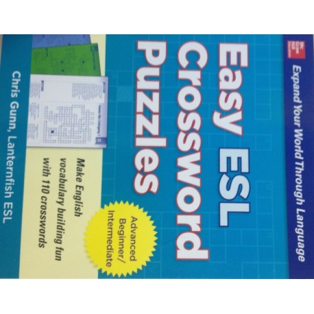 Easy ESL crossword puzzle