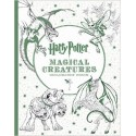 Harry Potter - Magical Creatures (Colouring book)