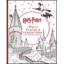 Harry Potter- Magical Places and Characters (colouring book)
