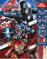 Busy Pack - Captain America. Civil War