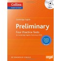 Cambridge English Preliminary Four Practice Tests  (PET)