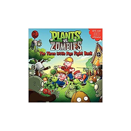 Plants vs Zombies. The Three little Pigs Fight Back